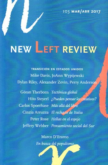 New Left Review 103 - AA. VV.