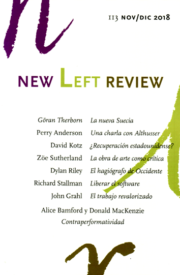 New Left Review 113 - AA. VV.